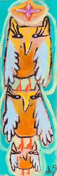 3 Little Owls Art | DuggArt