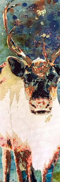 Reindeer Art   Kristi Abbott Gallery & Studio