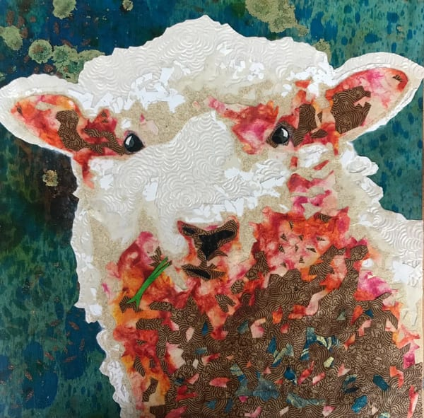 Sheep Art   Kristi Abbott Gallery & Studio
