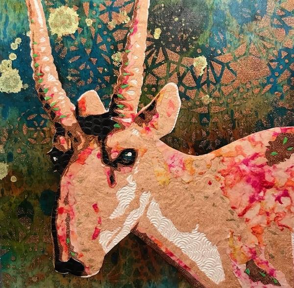 Saiga Art   Kristi Abbott Gallery & Studio