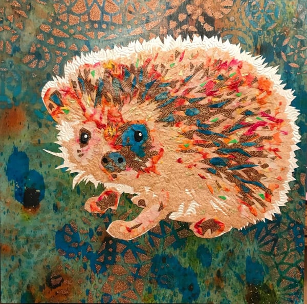 Hedgehog Art   Kristi Abbott Gallery & Studio