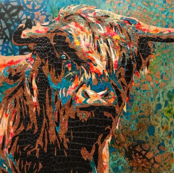 Highland Cow Art   Kristi Abbott Gallery & Studio