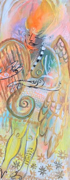 Harp Angel  Art | DuggArt