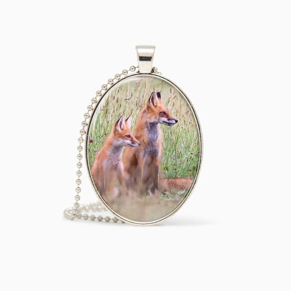Learning From Mom   Pendant | Deb Little Photography