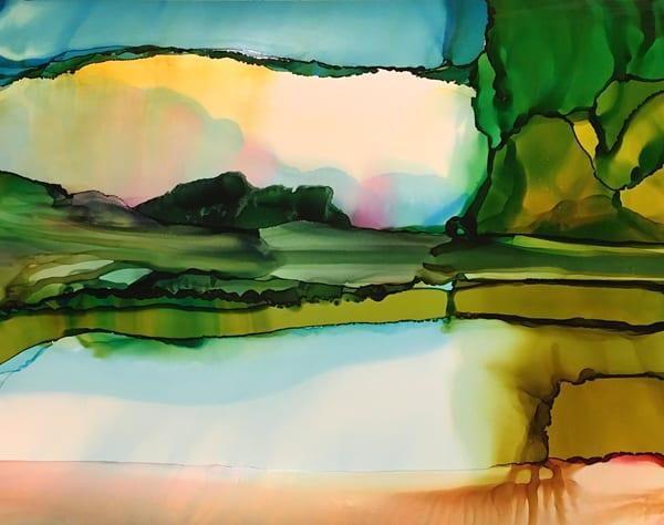 Present Reflection Art | Sandy Smith Gerding Artwork
