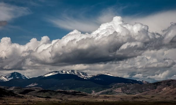 Spring Storm in Montana