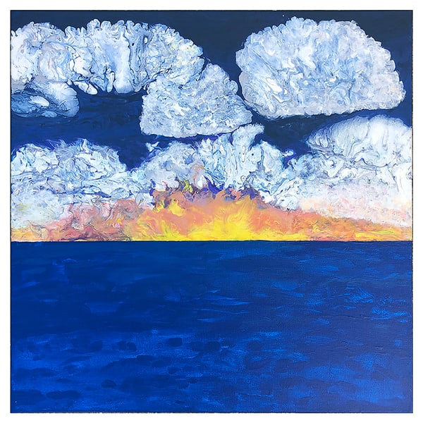 Sunrise Over The Water Art | Carol Roullard Art