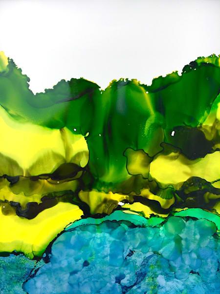 Churning Water Art | Sandy Smith Gerding Artwork