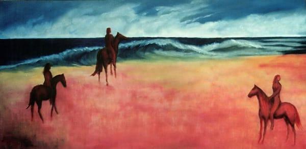 Fine Art Prints   At The Beach   Micky Jansen