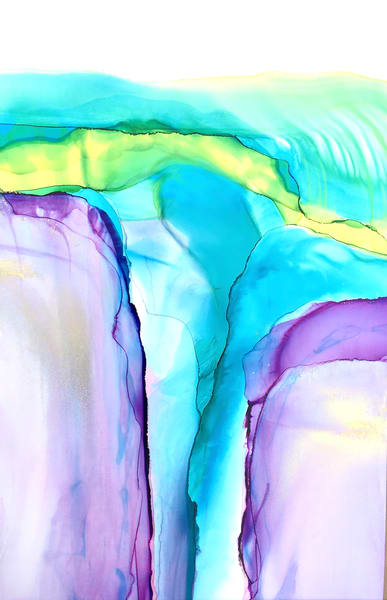 Heights With Gold Art | Sandy Smith Gerding Artwork