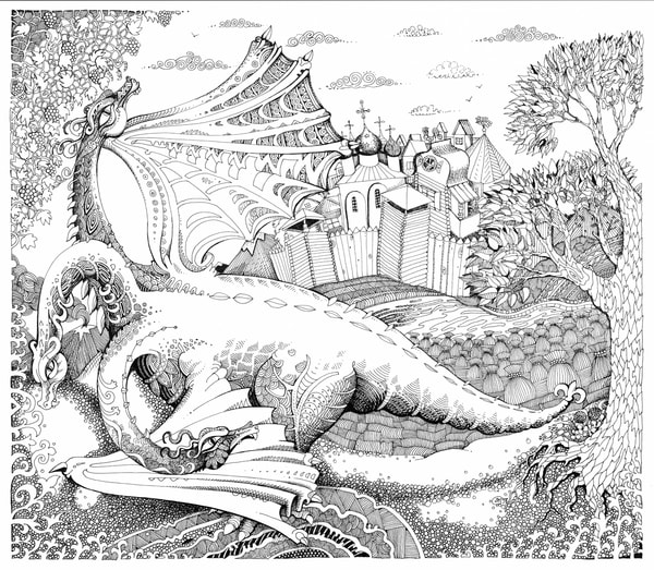 Zmey Gorinich, Russian Three-headed dragon