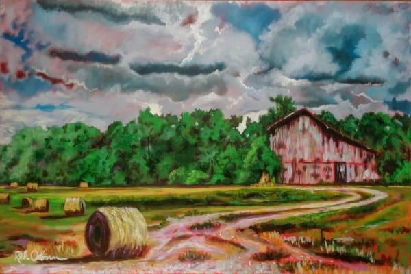 Making Hay On A Cloudy Day Art | Rick Osborn Art