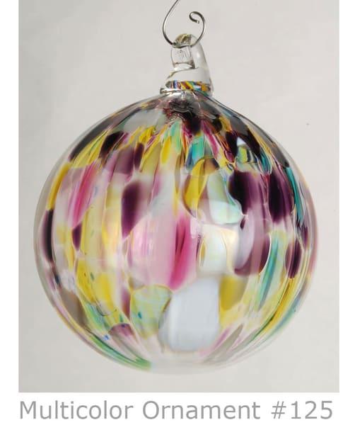 Blown Sphere Ornaments | Ed Pennebaker, Red Fern Glass