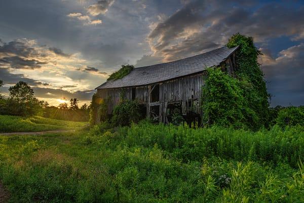 Sunset Rustic Barn