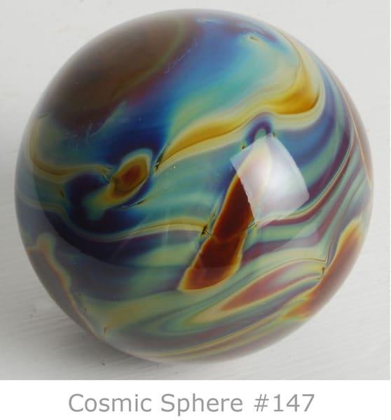 Cosmic Sphere | Ed Pennebaker, Red Fern Glass