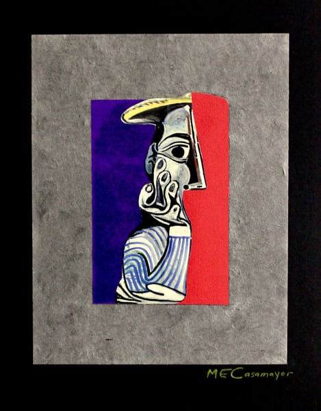 Homage To Picasso 3 Art | Casamayor Art