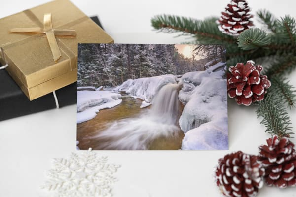 Diana's Bath on a Snowy Day Greeting Card | Shop Photography by Rick Berk