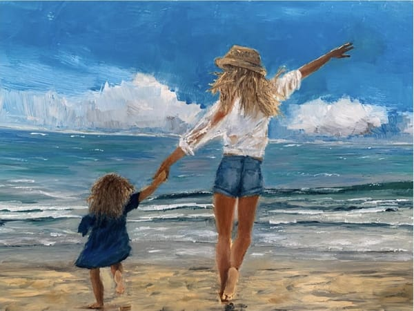 Beach Girls Art | Dave Fox Studios