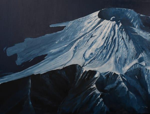 Mt St Helens 10 000 Ft Art | Dave Fox Studios