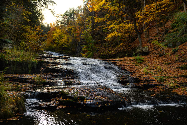 Hyuck Falls in Autumn