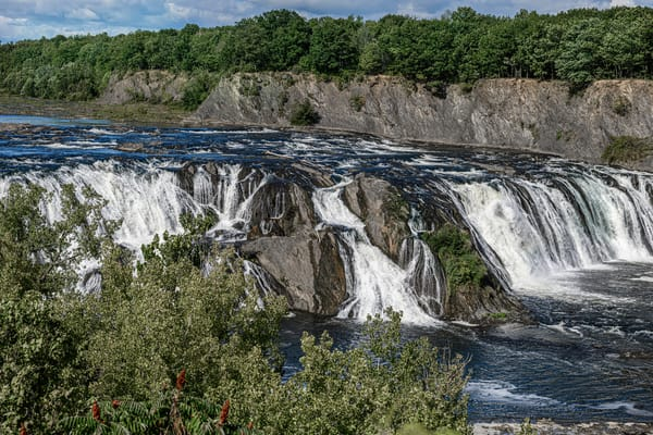 Cohoes Falls Late Autumn Art | Photography By Festine