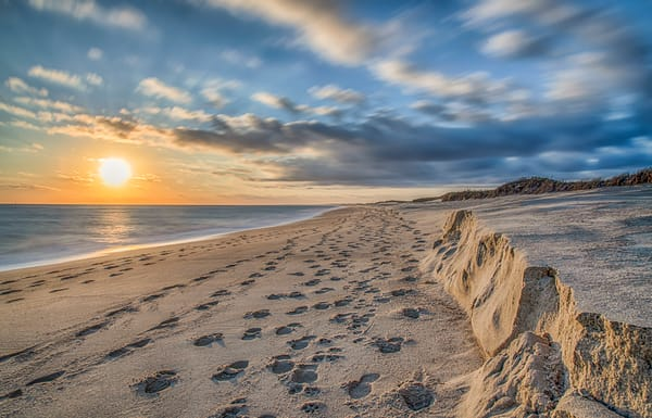 South Beach Fall Long Exposure Art | Michael Blanchard Inspirational Photography - Crossroads Gallery