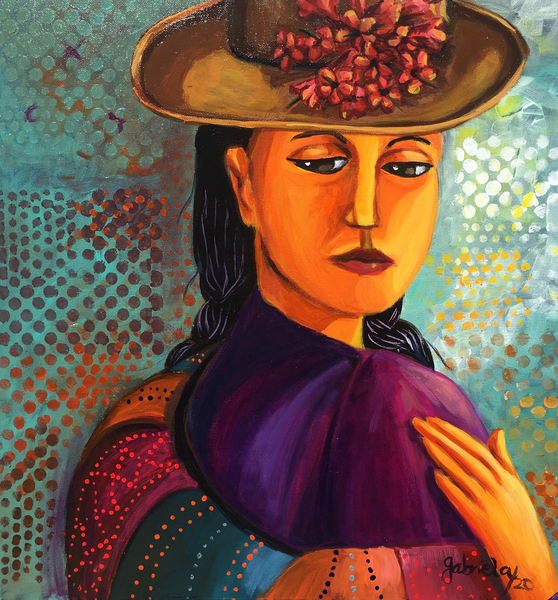Hugging Myself Art | womanoftheandes