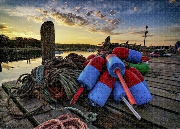Buoys & Line Jigsaw Puzzle | Shop Photography by Rick Berk