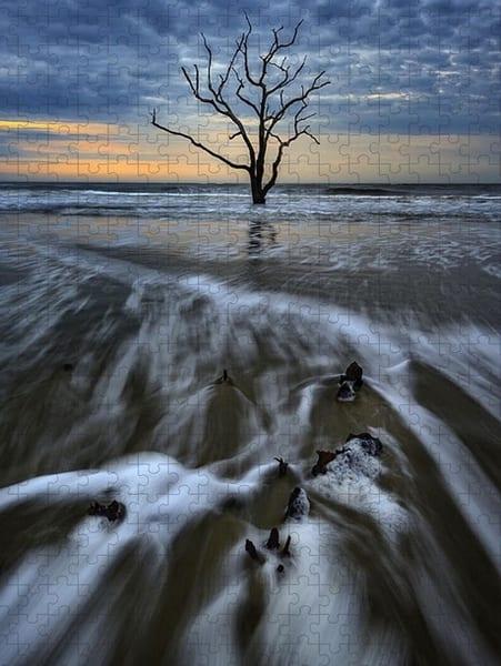Dawn on the Carolina Coast Jigsaw Puzzle | Shop Photography by Rick Berk