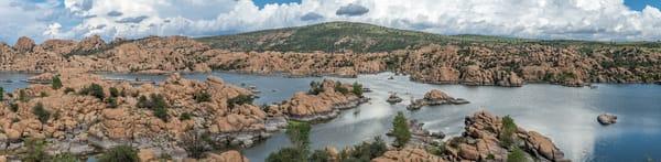 Watson Lake Prescott AZ Panorama