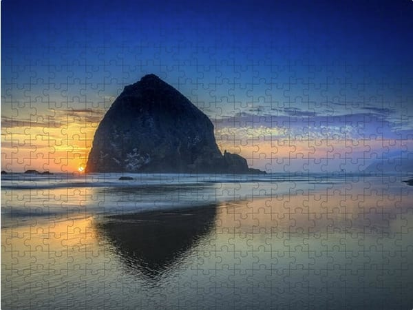 Day's End in Cannon Beach Jigsaw Puzzle   Shop Photography by Rick Berk