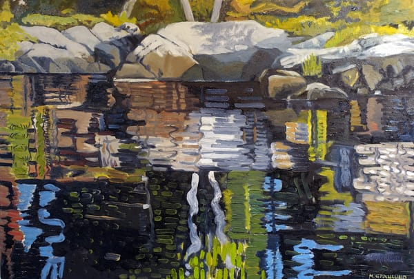 Reflections I by Mark Granlund