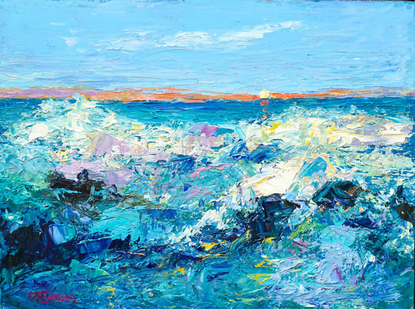 September Surf 810 Art | Pamela Ramey Tatum Fine Art