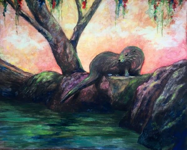 Rainbow River Otter