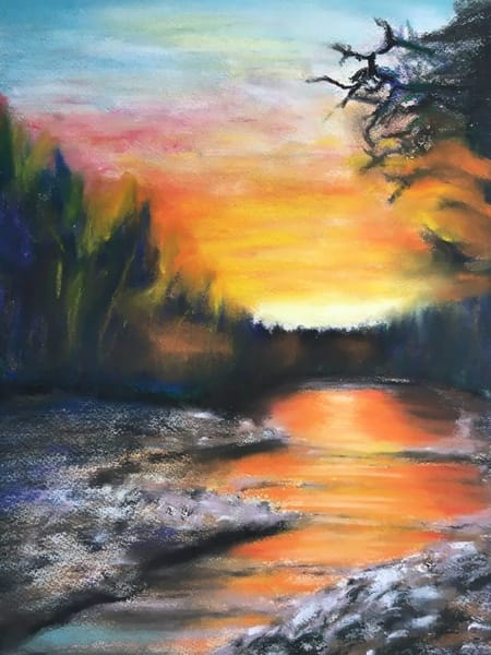 Saco River Notecards | Holly Whiting Art