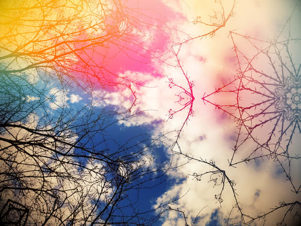 Cloud Gazing Mandala Art | onlythemoon