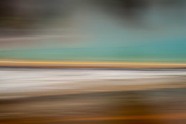 Turning Heads - Abstract photo art from Yellowstone, Wyoming photograph print by Heather Roberson