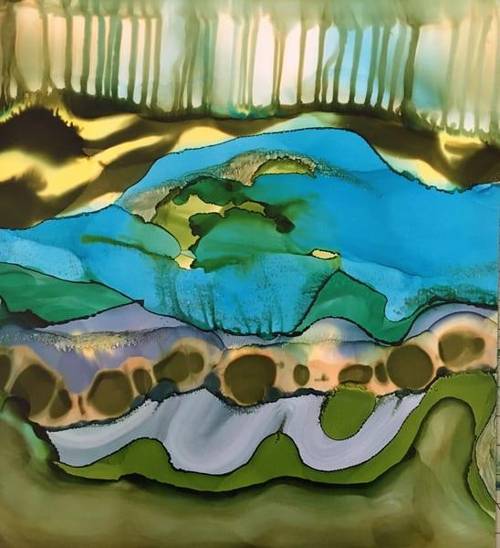 Along The Forest Floor, Original Art | Sandy Smith Gerding Artwork