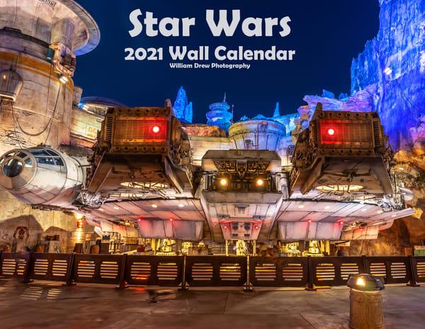 Star Wars 2021 Wall Calendar | William Drew Photography