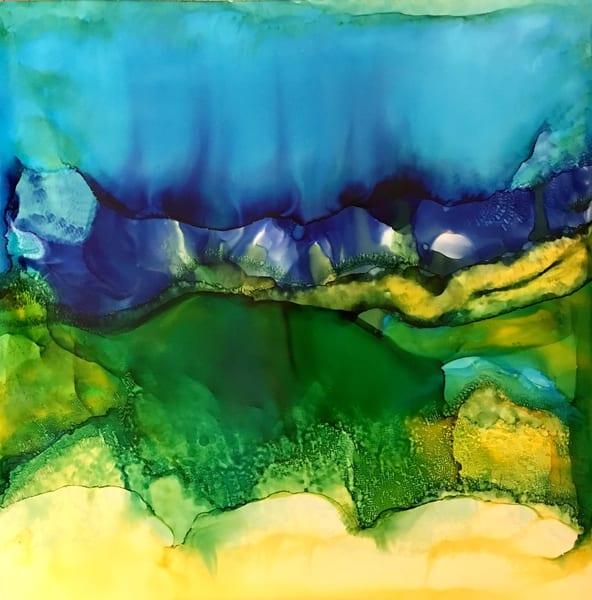 Billowed Approach, Original Art | Sandy Smith Gerding Artwork