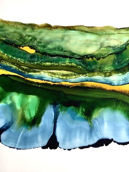 Landscape Layers 3, Original Art | Sandy Smith Gerding Artwork