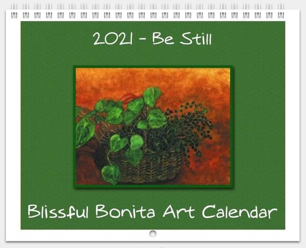 2021 Blissful Bonita Art Calendar | Blissful Bonita Art Studio & Gallery