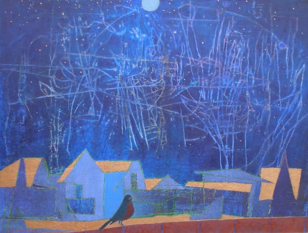 Night Robin Art | Fountainhead Gallery