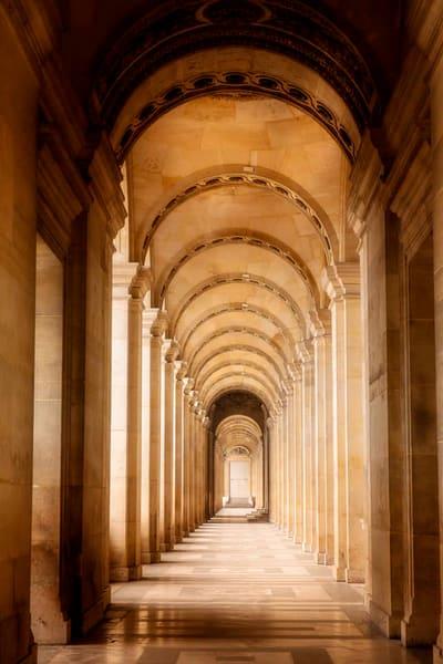 Louvre Hallway Art   AngsanaSeeds Photography