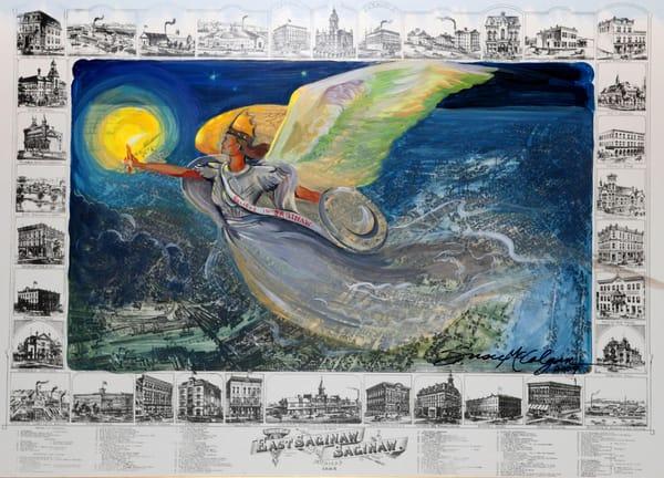Believe In Saginaw Art | susie mccolgan art