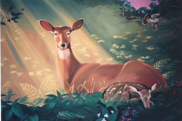 Peacable Kingdom Art | susie mccolgan art