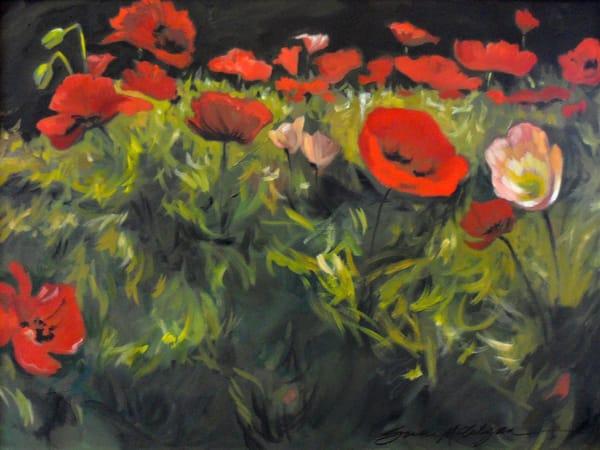 Poppy Love  Art | susie mccolgan art