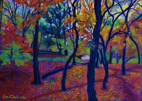 Northern Manhattan Isham Park NYC Landscape