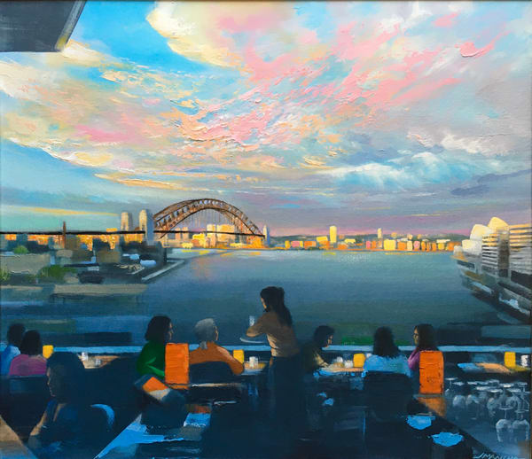 Sydney Harbour Art | MANTHA DESIGN