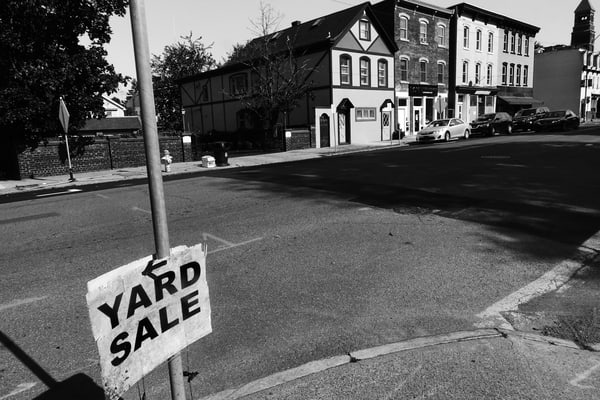 Yard Sale Photography Art | Peter Welch